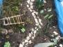 Kleine Gärten im botanischen Garten