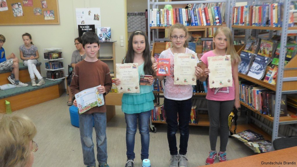 Teilnehmer unserer 4. Klassen